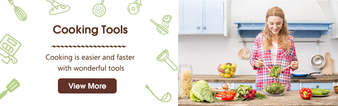 Cooking Tools Banner